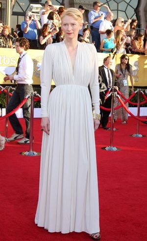 Tilda Swinton 18th Annual Screen Actors Guild Awards Los Angeles Jan 2012