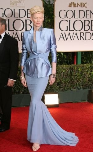 Tilda Swinton 69th Annual Golden Globe Awards Los Angeles Jan 2012