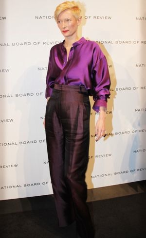 Tilda Swinton The National Board of Review Awards Gala New York City Jan 2012