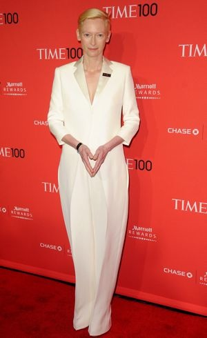 Tilda Swinton Time 100 Gala New York City April 2012