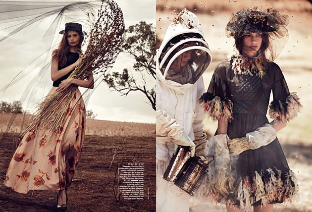 Vogue Australia April 2013 - The Sweetest Thing featuring Cassi van den Dungen