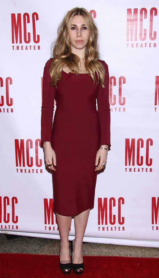 Zosia Mamet MCC Theater Miscast Gala New York City